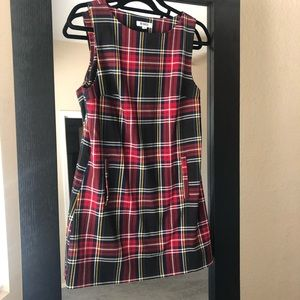 BB Dakota plaid dress